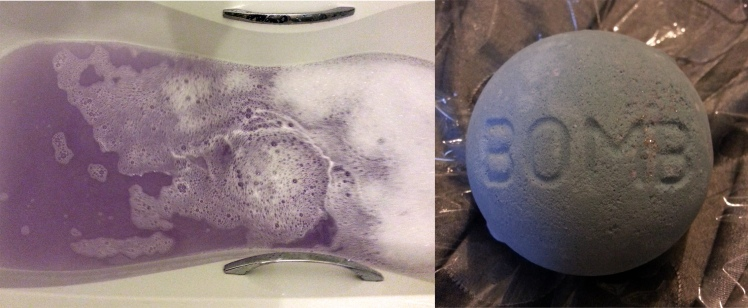 Blackberry Bath Bombs