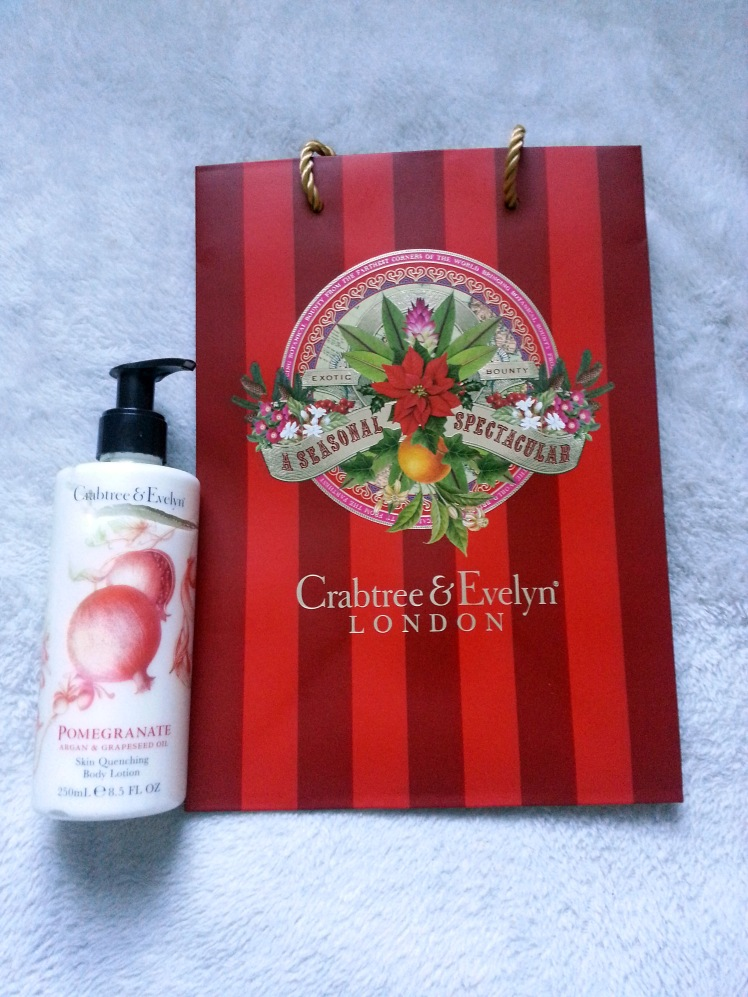 Pomegranate Argan & Grapeseed Oil Body Lotion